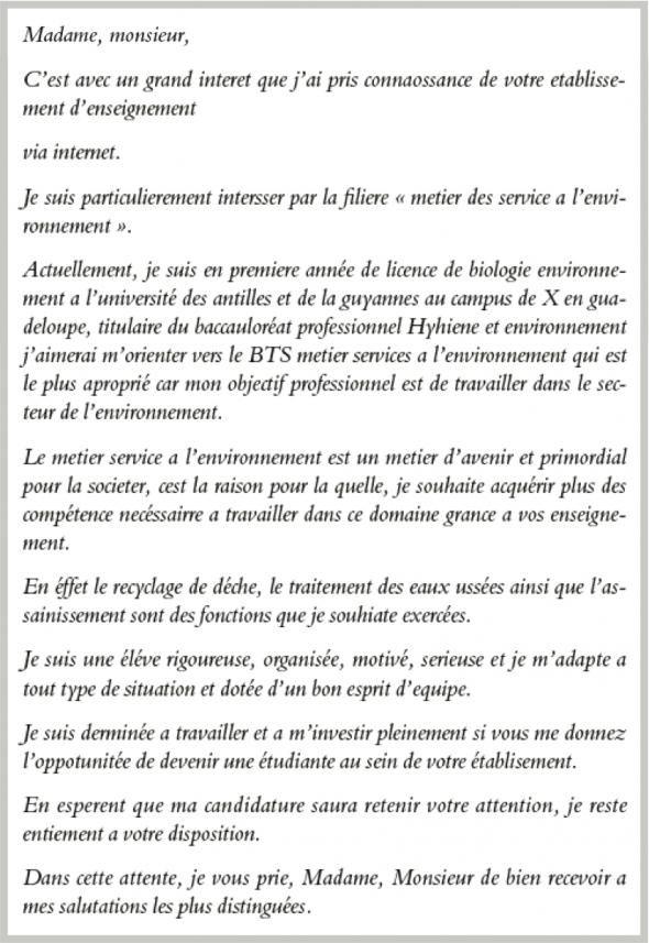 Lettre de motivation parcoursup medecine - laboite-cv.fr