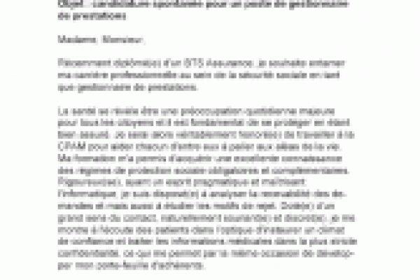 lettre de motivation adjoint administratif 2 u00e8me classe