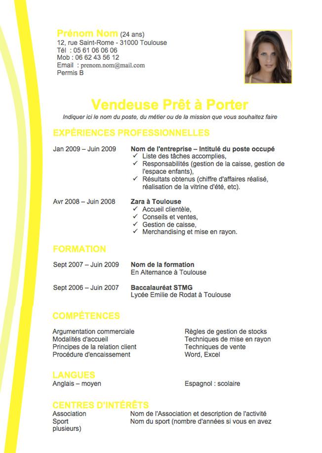 Exemple de cv pour bts communication - laboite-cv.fr