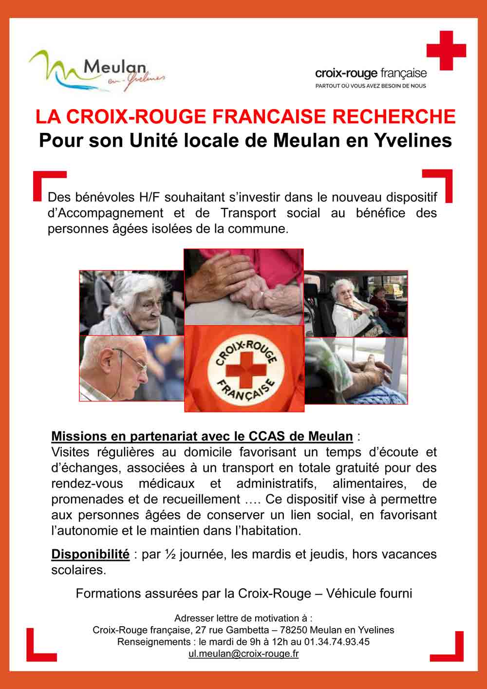 lettre de motivation pour b u00e9n u00e9volat croix rouge