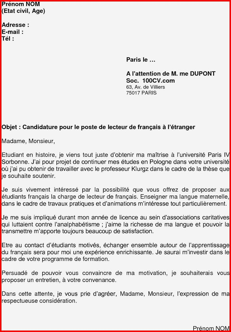 lettre de motivation apb reorientation