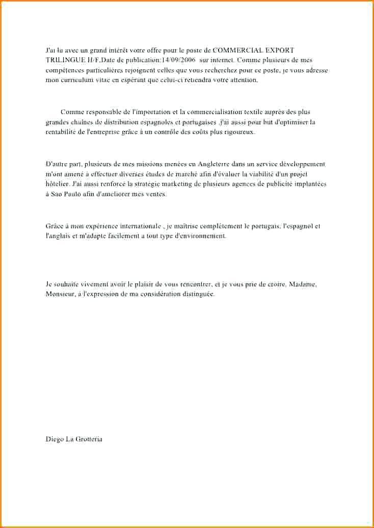 lettre de motivation emploi saisonnier grande surface