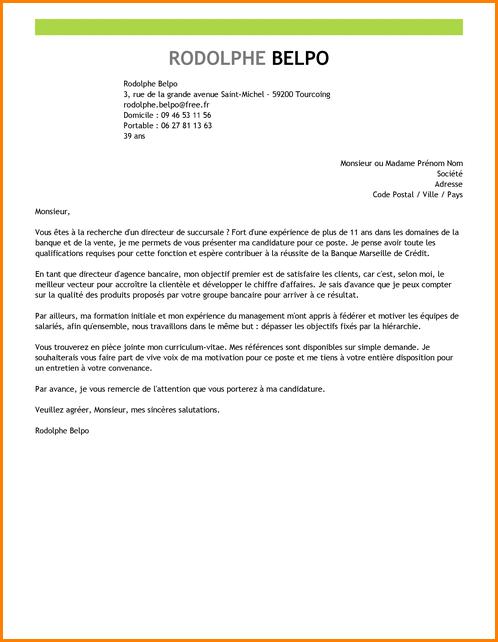 Lettre De Motivation Conseiller Commercial Banque Laboite Cv Fr