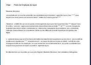 Archives Des Lettre De Motivation Page 41 Sur 46 Laboite Cv Fr