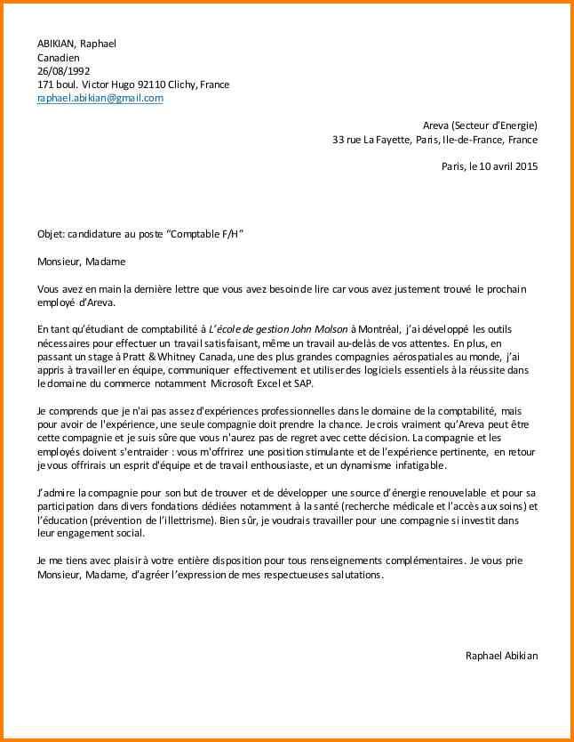 lettre de motivation stage employ u00e9 libre service