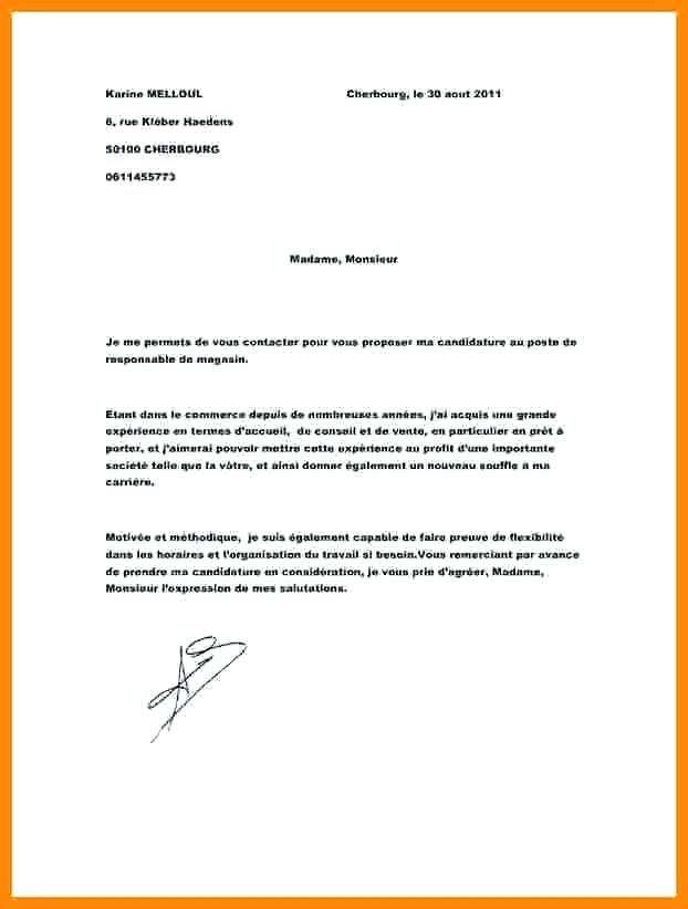 Lettre de motivation sans experience vendeuse - laboite-cv.fr