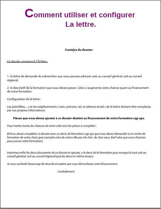 lettre de motivation conseil departemental