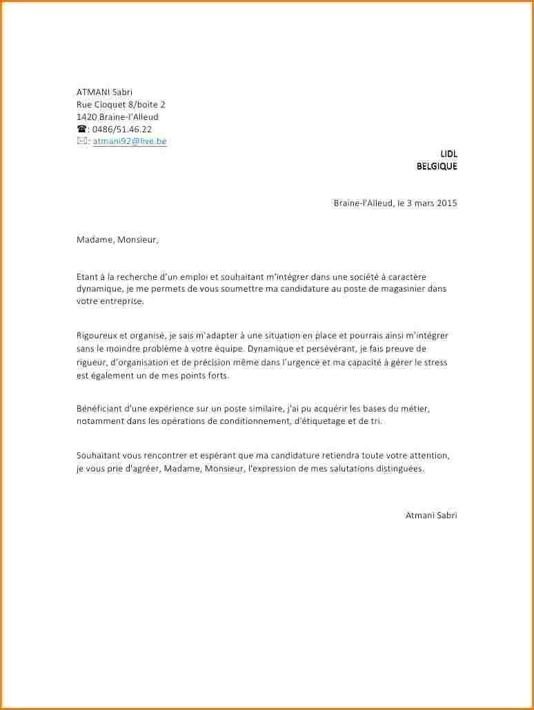 Exemple lettre de motivation hotesse de caisse sans ...