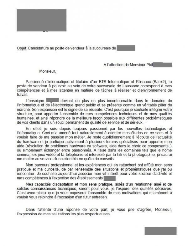 Lettre De Motivation Alternance Ingenieur Informatique Laboite Cv Fr