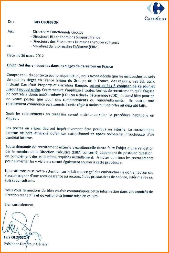 Lettre De Motivation Carrefour Job D Ete Laboite Cv Fr