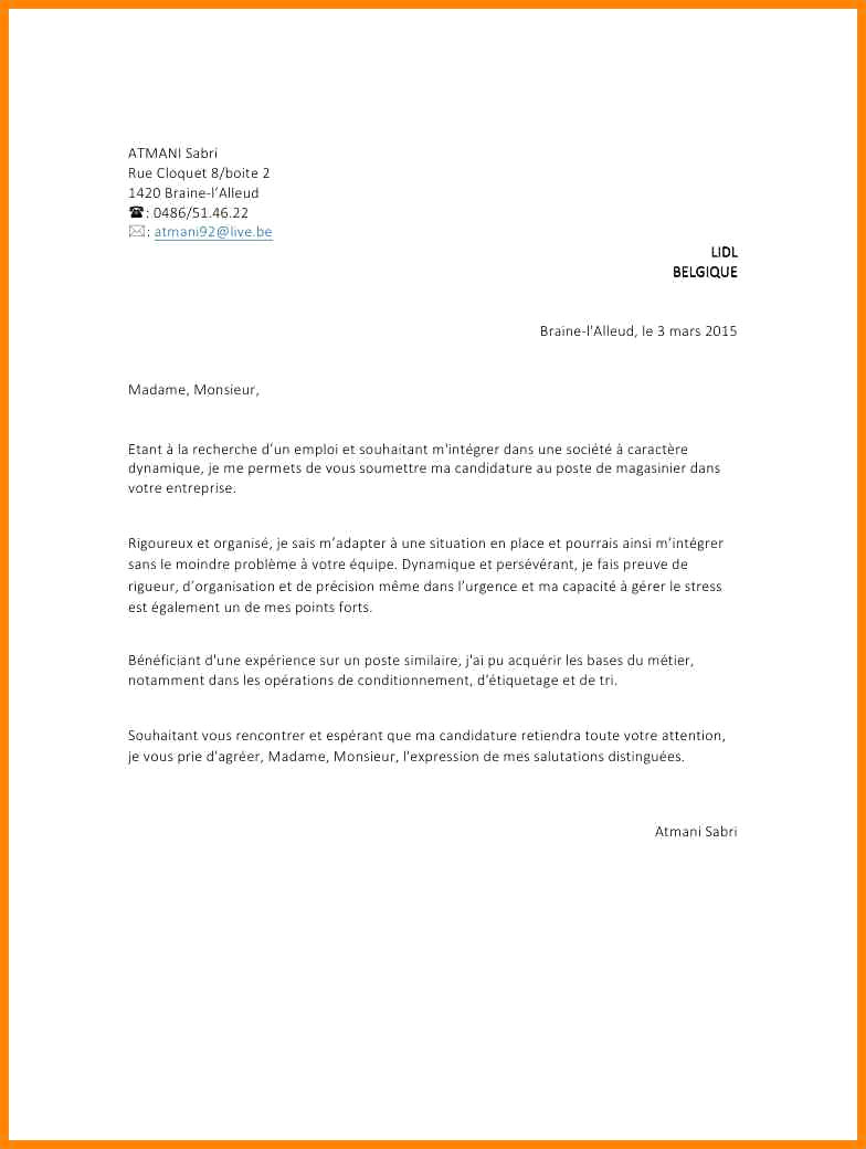lettre de motivation pour un apprentissage en vente