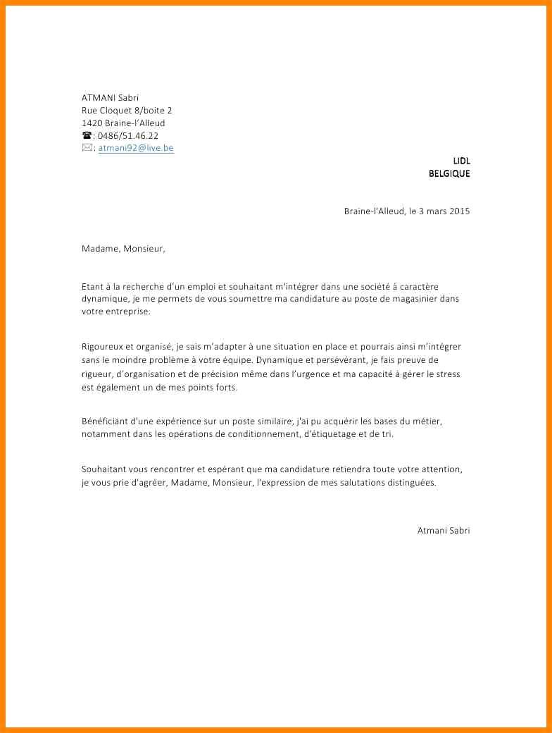 lettre de motivation pour un apprentissage en vente
