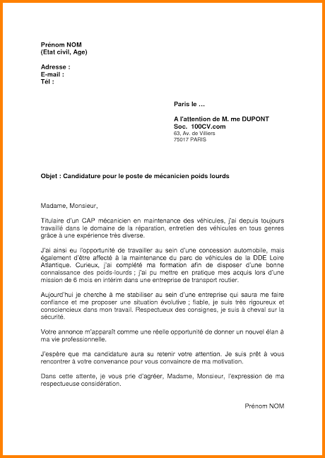 lettre de motivation alternance concession automobile
