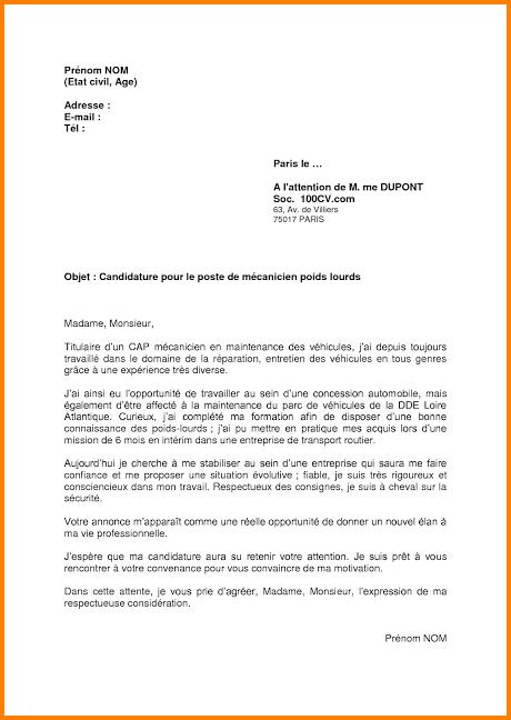 lettre de motivation alternance concession automobile