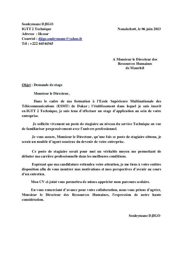 Lettre De Motivation Mairie Service Technique Laboite Cv Fr