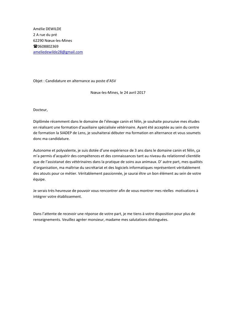 Lettre de motivation opticien alternance - laboite-cv.fr