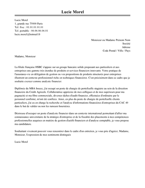 lettre de motivation assistant de gestion administrative
