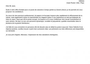 Cv Et Lettre De Motivation Ci Joints Laboite Cv Fr