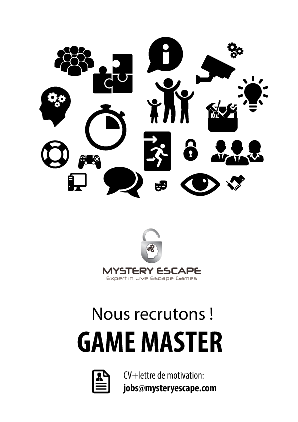 lettre de motivation game master