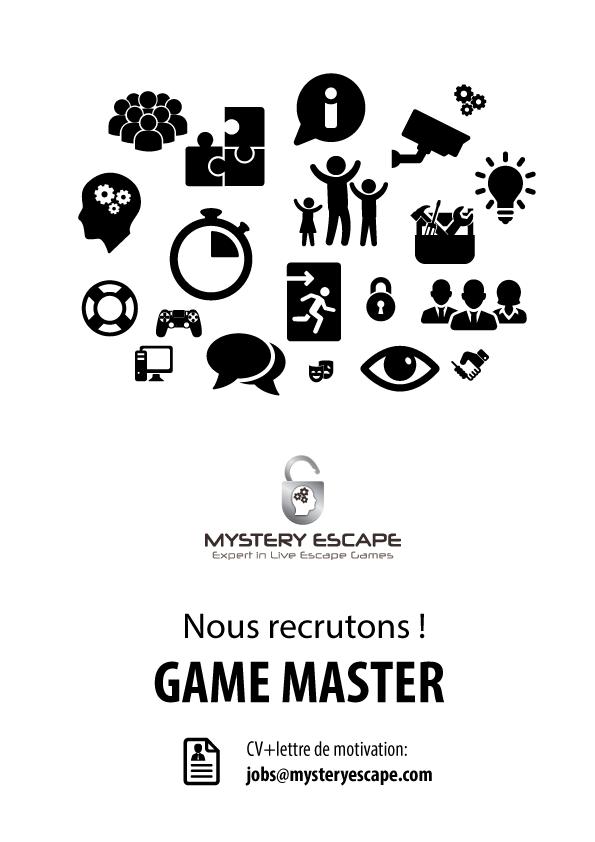 lettre de motivation game master