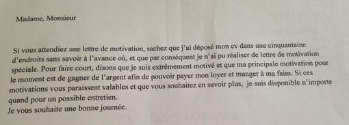 lettre de motivation petsitter