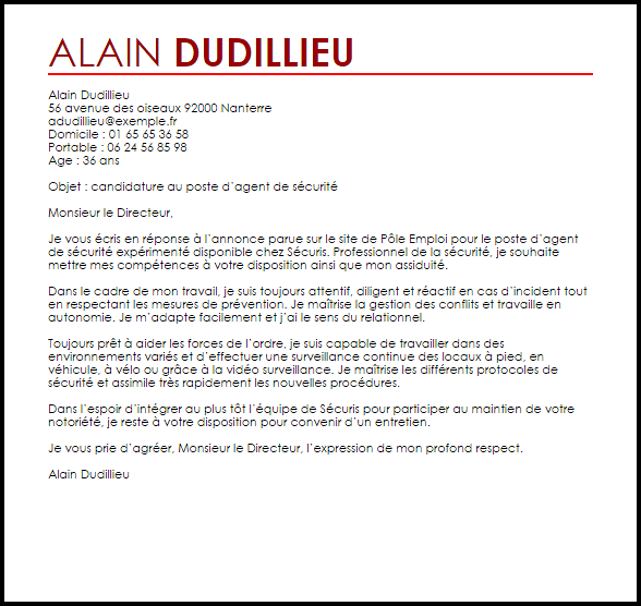 Exemple Lettre De Motivation Agent D Entretien Laboite Cv Fr