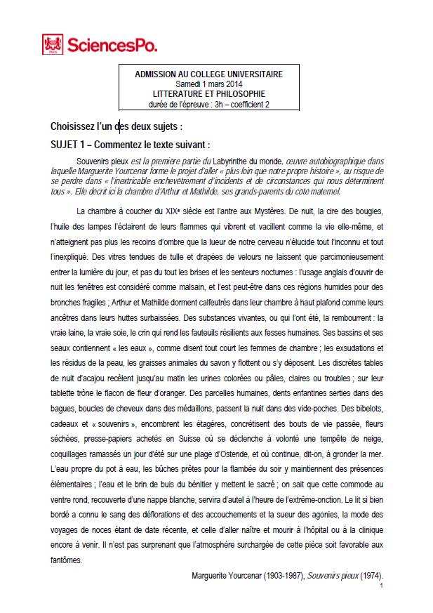 lettre de motivation sciences po paris