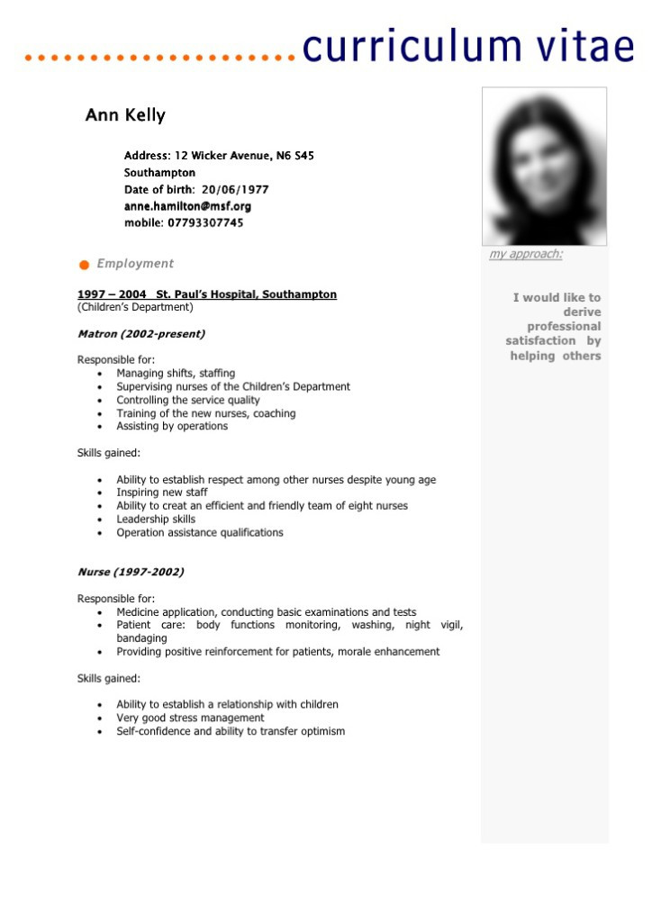 Curriculum Vitae Simple Francais Laboite Cv Fr