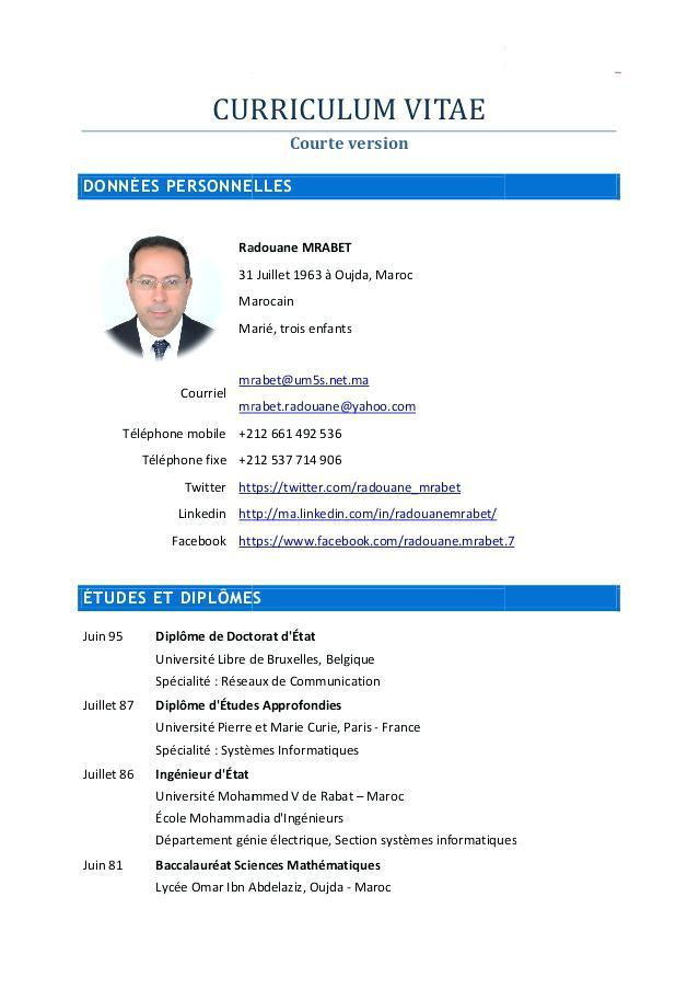 Exemple De Cv 2018 Belgique Laboite Cv Fr