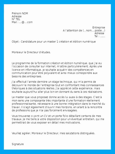 lettre de motivation info com