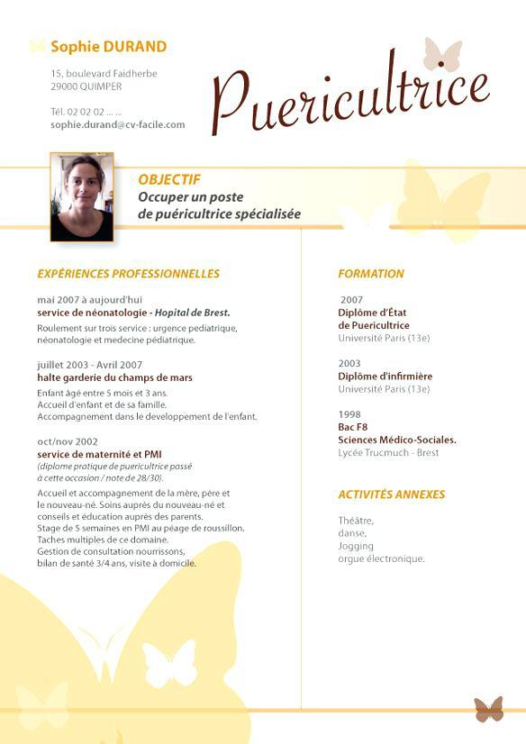 Curriculum vitae infirmière exemple - laboite-cv.fr