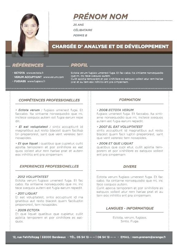 exemple de cv responsable recrutement