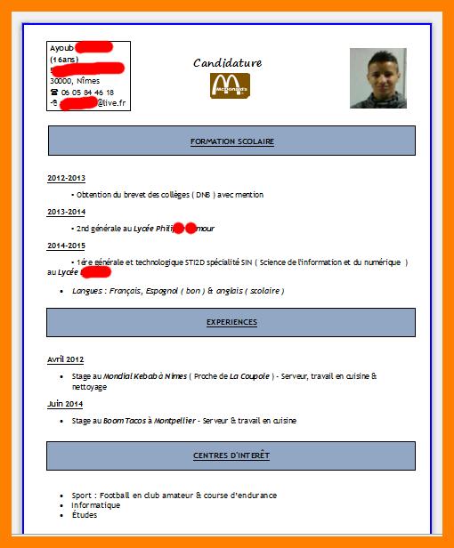 exemple de cv europass assurance