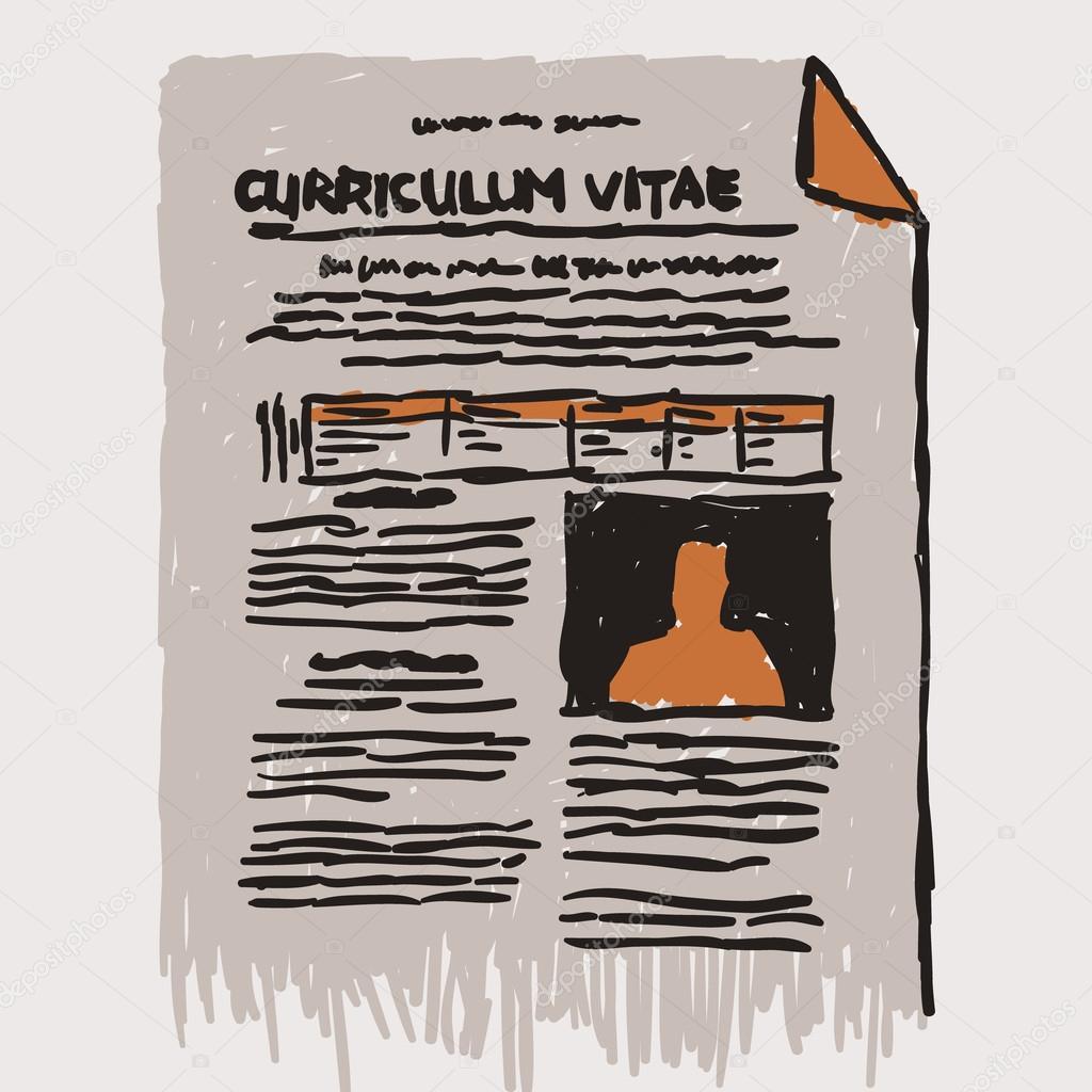 symbole curriculum vitae