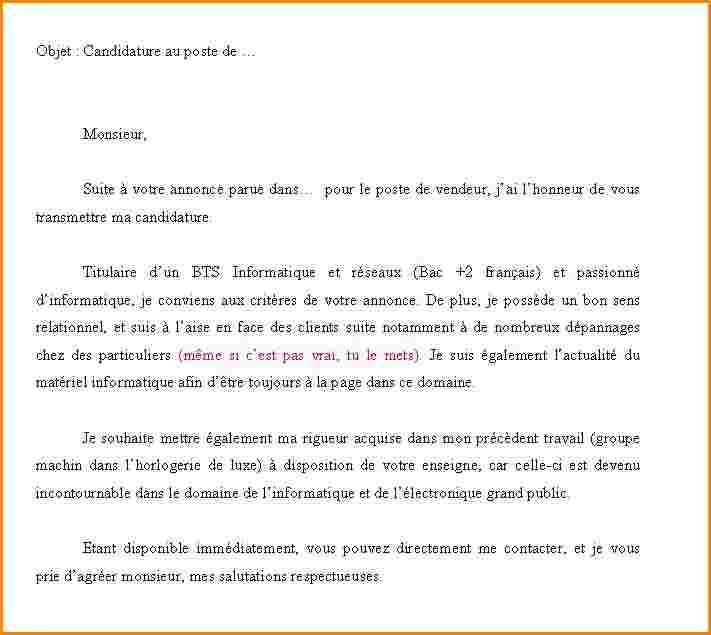 lettre de motivation mcdo sans exp u00e9rience
