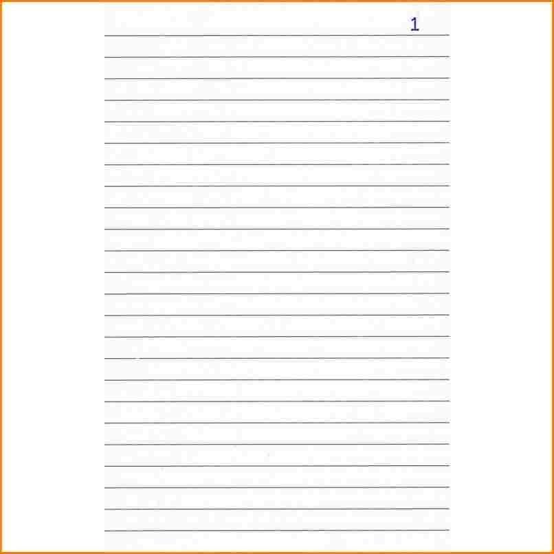 feuille pour lettre de motivation