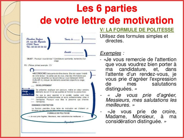 Phrase Fin Lettre De Motivation Laboite Cv Fr