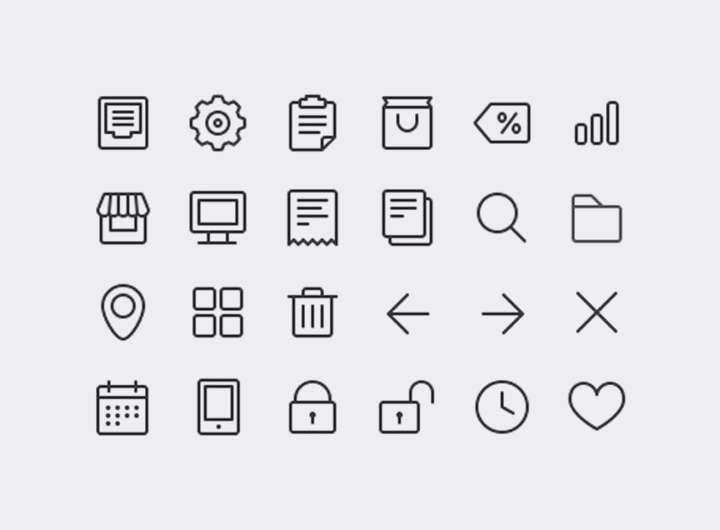 icone pour curriculum vitae