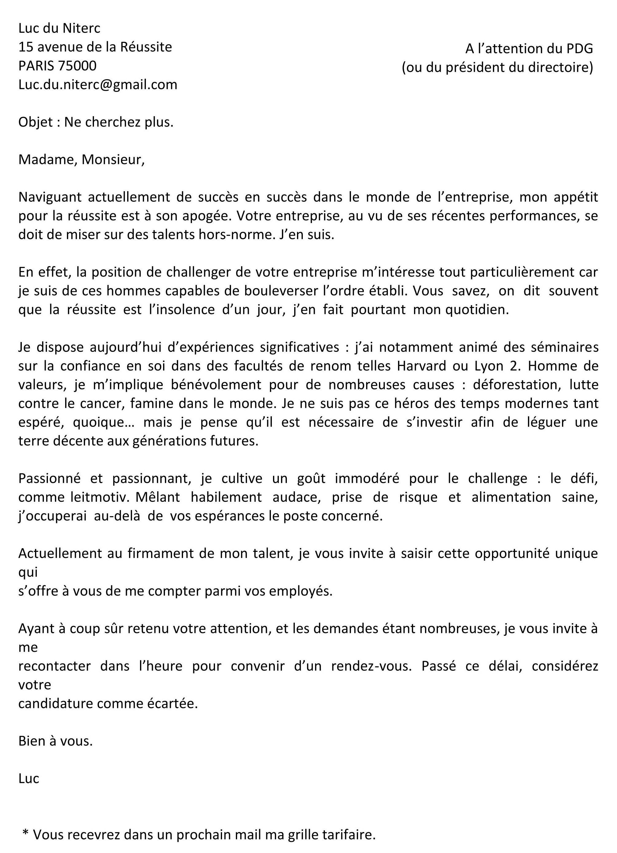 Lettre De Motivation Juriste D Entreprise Laboite Cv Fr