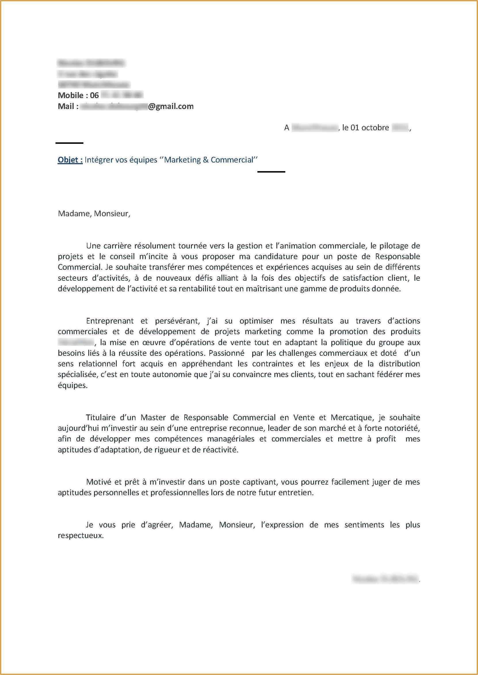 lettre de motivation agent communal sans experience
