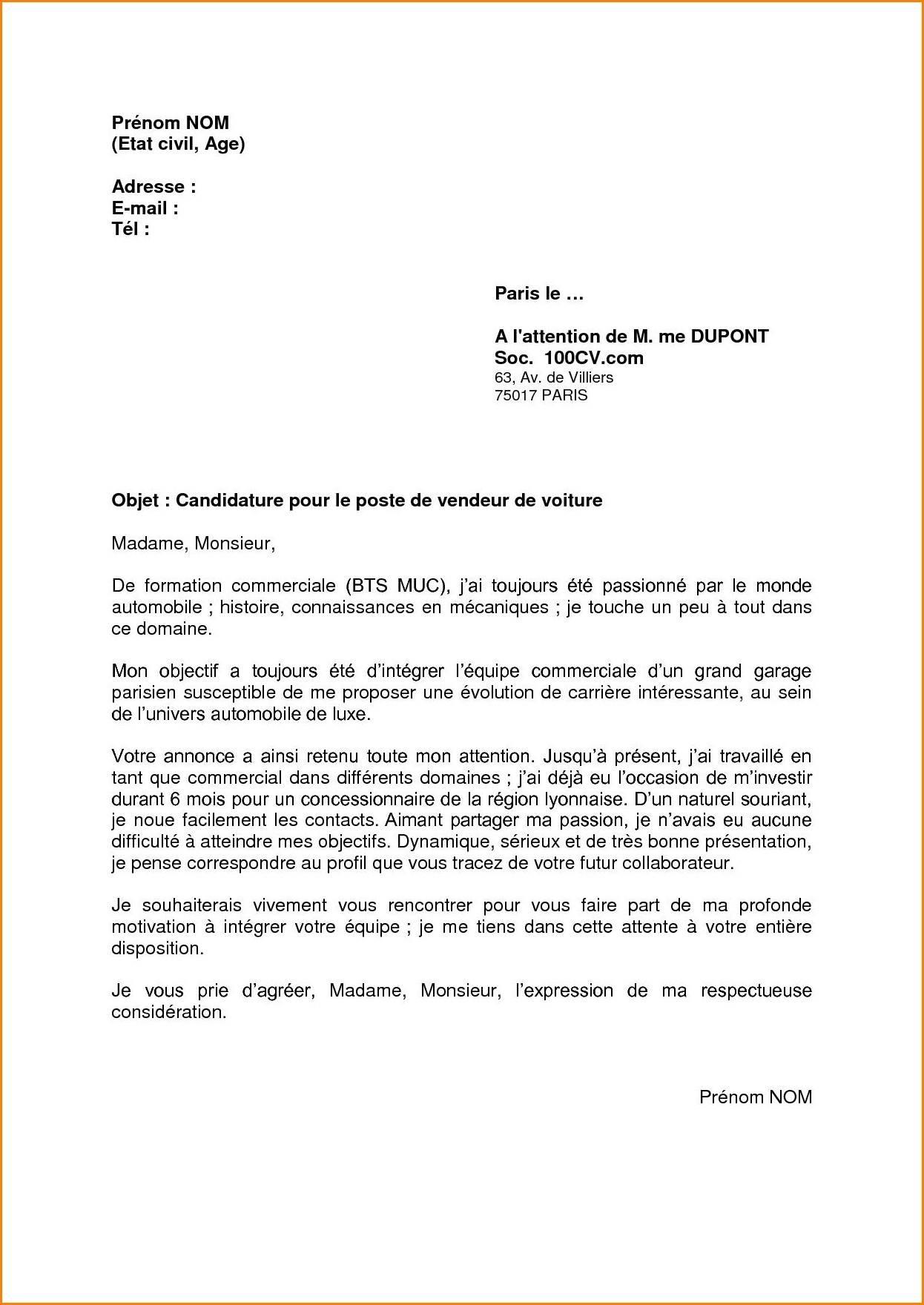 lettre de motivation accueil hopital