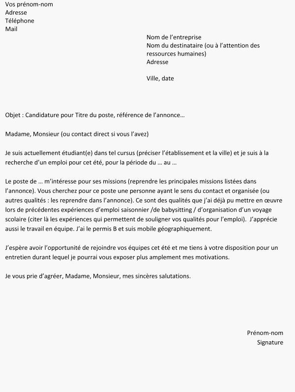 Lettre de motivation alternance logistique - laboite-cv.fr