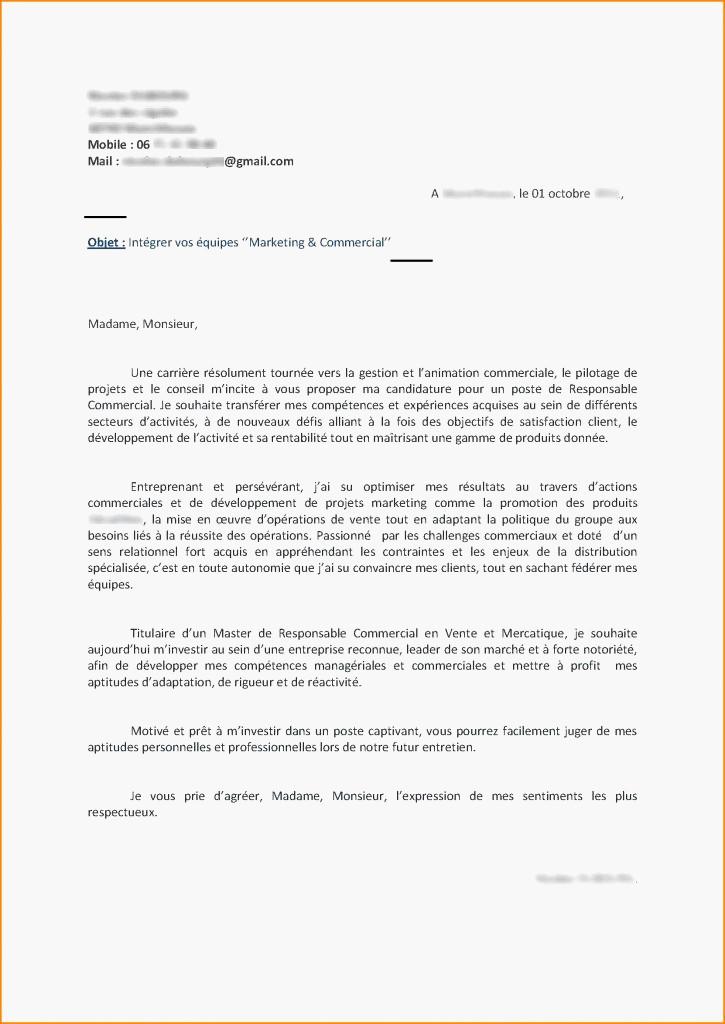 lettre de motivation animatrice commerciale