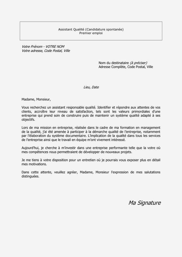 lettre de motivation pour assistant d u0026 39  u00e9ducation