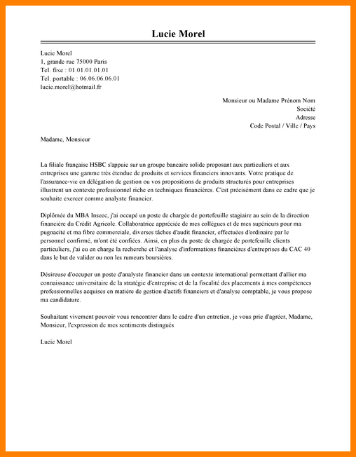 lettre de motivation assistant manager