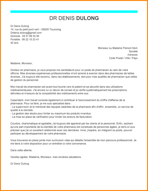 lettre de motivation drive auchan