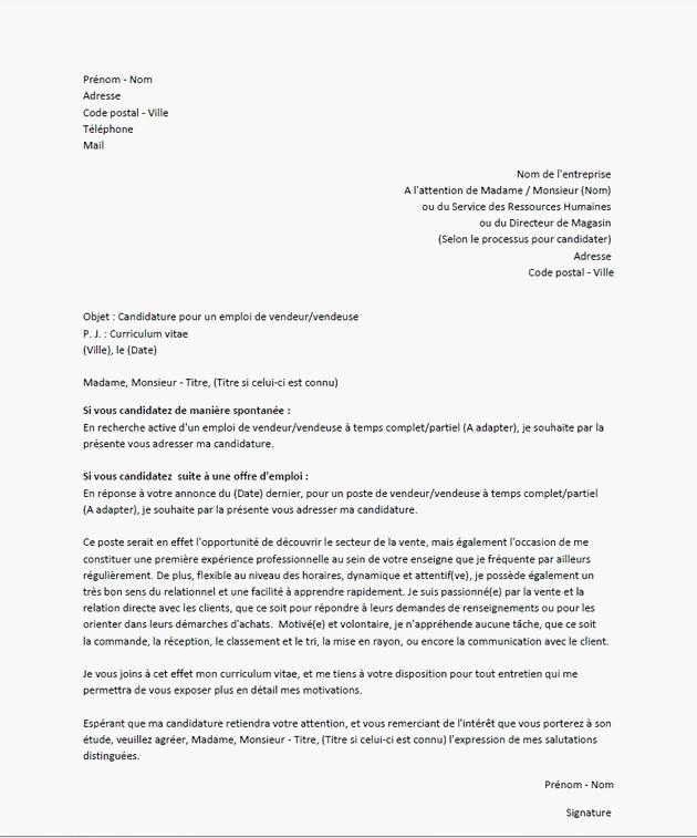 lettre de motivation auto entrepreneur