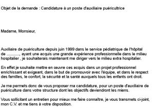 Lettre De Motivation Gouvernante Laboite Cv Fr