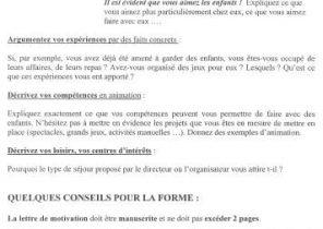 Lettre De Motivation Stage Pro Laboite Cv Fr