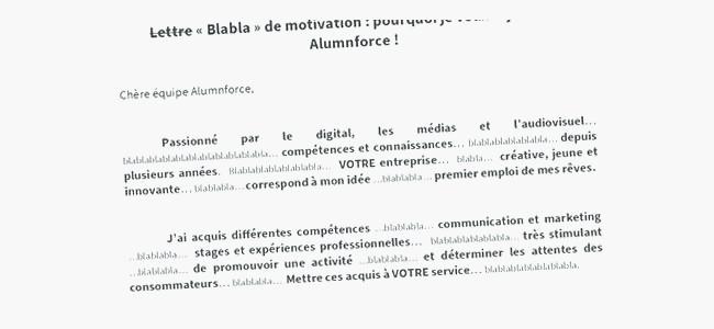 exemple de cv bts audiovisuel